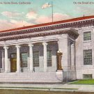 New Post Office in Santa Rosa California CA, Edward H Mitchell Vintage Postcard - M0227