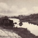 Black Rock in Winters California CA, Edward H Mitchell 1915 Vintage Postcard - M0229