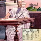 May 1911 Calendar, Edward H Mitchell Vintage Postcard - M0231