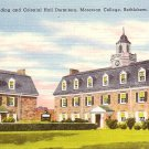Archives and Dormitory Buildings in Moravian College at Bethlehem Pennsylvania PA, Postcard - BTS 51
