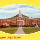 Newburyport High School in Massachusetts MA, Chrome Postcard - BTS 54