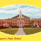 Newburyport High School in Massachusetts MA, Chrome Postcard - BTS 54