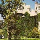 Davis Hall at the University of Rhode Island in Kingston RI, Chrome Postcard - BTS 70