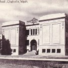 West Side School in Chehalis Washington WA, Vintage Postcard - BTS 81