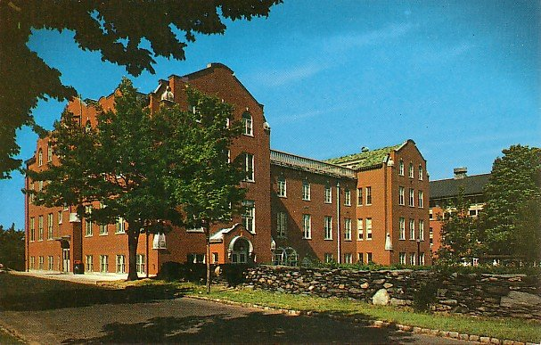 Stephen Hall at Providence College in Rhode Island RI, Chrome Postcard - BTS 86