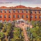 St Anthonys Seminary in Catskill New York NY Linen Postcard - BTS 100