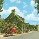 City Gate and Oldest Wooden Schoolhouse in the USA at St. Augustine Florida FL, Postcard - BTS 125