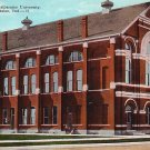 Auditorium at Valparaiso University, Indiana IN Vintage Postcard - BTS 152