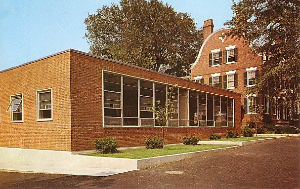 Bryant College in Providence Rhode Island RI, Chrome Postcard - BTS 156