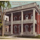 Phi Psi House at Ohio Wesleyan University in Delaware OH Vintage Postcard - BTS 174