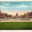 University of Rochester, College of Arts and Sciences for Men in NY 1934 Vintage Postcard - BTS 177