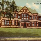 Williams Memorial Institute in New London Connecticut CT, 1914 Vintage Postcard - BTS 182
