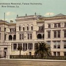 Tulane University in New Orleans Louisiana LA Vintage Postcard - BTS 186