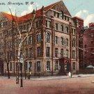 Aldolphi Institute in Brooklyn New York NY, Vintage Postcard - BTS 192