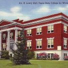 Jas. H. Lowry Hall at Texas State College for Women in Denton Texas TX 1943 Linen Postcard - BTS 218