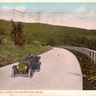 Lebanon Trail along the Mountain Ledge in Pennsylvania PA, 1915 Vintage Postcard - 4061