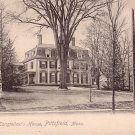 Longfellow's House in Pittsfield Massachusetts MA, Rotograph Co. Vintage Postcard - 4074