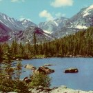 Long's Peak at Rocky Mountain National Park in Colorado CO, 1955 Curt Teich Postcard - 4095