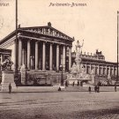 Parliaments at Wien Austria, 1907 Vintage Postcard - 4107