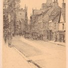 Trumpington Street in Cambridge England, Vintage Postcard - 4129