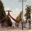Eagle Gate at Salt Lake City in Utah UT, 1905 Vintage Postcard - 4150