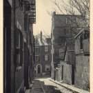 Acorn Street of Beacon Hill in Boston Massachusetts MA, Vintage Postcard - 4153