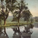 On the Lagan in Belfast Ireland, 1911 Vintage Postcard - 4215