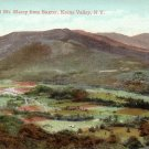 Keene Valley and Mt. Marcy from Baxter New York Vintage Postcard - 4247