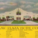 Alamo Plaza Hotel Courts Advertising Postcard - 4262