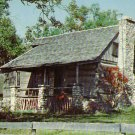 Old Matt's Cabin iof Shepherd of the Hills fame in Branson Missouri MO, Chrome Postcard - 4263