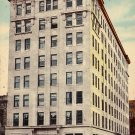 American National Bank Building in Oklahoma City OK, 1910 Vintage Postcard - 018 NJ