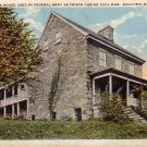 Old Singleton House used as Civil War Prison in Keyser West Virginia WV, Curt Teich Postcard - 4306