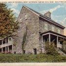 Old Singleton House used as Civil War Prison in Keyser West Virginia WV, Curt Teich Postcard - 4306