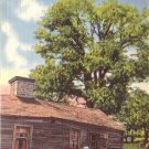 Jesse James Home in Excelsior Springs Missouri MO, Linen Postcard - 4321