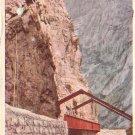 The Hanging Bridge at Royal Gorge Colorado CO, 1926 Vintage Postcard - 4344