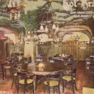 Grill Room in Hof Brau Cafe in San Francisco California CA, Vintage Postcard - 4484