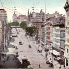 State Street from Broadway in Albany New York NY, 1909 Vintage Postcard - 4487