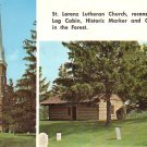 St. Lorenz Lutheran Church in Frankenmuth Michigan MI, 1973 Chrome Postcard - 4534