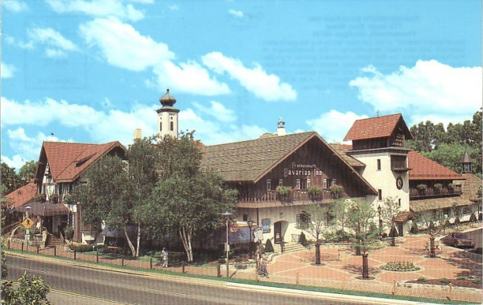 Frankenmuth Bavarian Inn Michigan MI 1987 Chrome Postcard - 4538