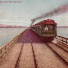 Lucin Cut Off Great Salt Lake Utah UT 1911 Vintage Postcard - 4562