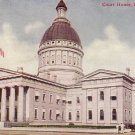 Court House in St. Louis Missouri MO 1910 Vintage Postcard - 4563