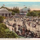 Children's Playground at Golden Gate Park in San Francisco California CA Vintage Postcard - 4565