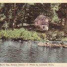 The Guardian Devils Gap Kenora Ontario Canada Vintage Postcard - 4571