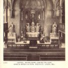 Chapel, Notre Dame Junior College Sancta Maria in Ripa St. Louis Missouri MO Postcard - 4579