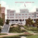 Casco Castle Hotel in Freeport Maine ME Vintage Postcard - 4581