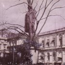Statue of Nathan Hale in New York City NY Vintage Postcard - 4598