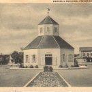 Memorial Building in Fredericksburg Texas TX 1946 Curt Teich Postcard - 4613