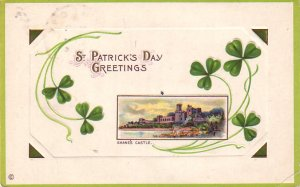Shane's Castle, St. Patricks Day 1914 Vintage Postcard - 4652