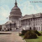 U.S. Capitol in Washington D.C. 1913 Vintage Postcard - 4669
