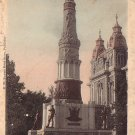 Soldiers and Sailors Monument in Winchester Indiana IN 1907 Vintage Postcard - 4670